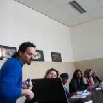 In de klas met de tuingroep